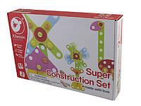 Іграшка дерев'яна  конструктор  Будуємо і граємось №3513 Classic World