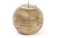 Свічка куля 10см,золотиста №B010_1-9.2/0418/Bonadi/(6)