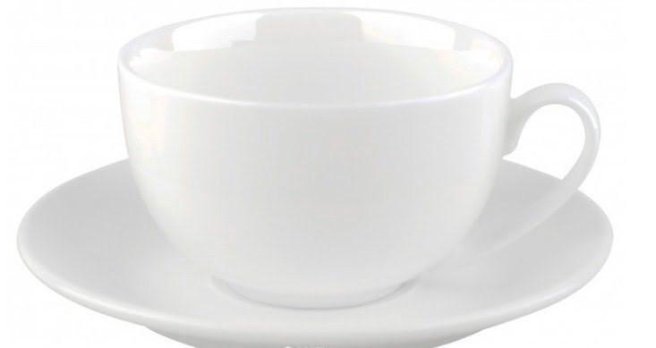 """Чашка фарфор. 250мл """"Wilmax"""" з блюдцем №WL-993000/0009(6)(36)"""