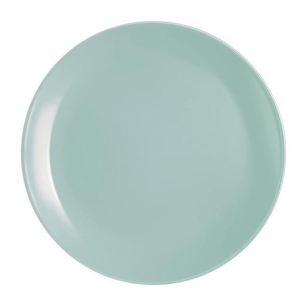"""Тарілка обідня скло """"Luminarc.Diwali Light Turquoise 25см №4119/2611(6)(24)"""