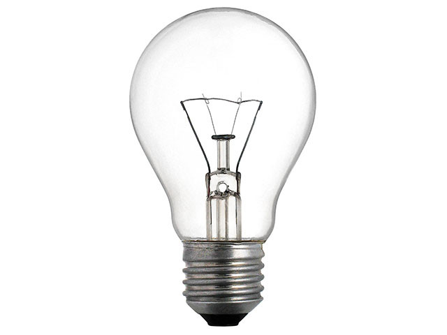 "Лампа ЛЗП ""Іскра"" A50 40Вт Е27 гофра(1)(100)"
