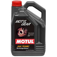 Масло трансмиссионное Technosynthese MOTUL Motylgear SAE 75W80 5л. 106466/823406