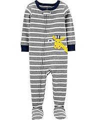 """Хлопковый слип для мальчика """"Жирафик"""" Carter's серый 5Т/105-112 см"""