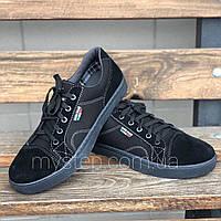 Кеды мужские черные Paolla 40 размер, фото 1