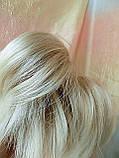 "Хвост короткий ""рожки"" на крабе платиновый блонд  6454А -15ВT613, фото 3"