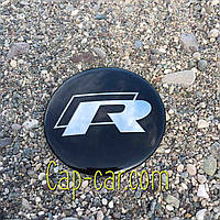 3D наклейка фольцваген для дисків Volkswagen R-line. 65мм ( Фольксваген )
