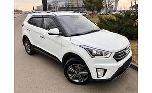 Ветровики Hyundai Creta 5d 2016-  дефлекторы окон