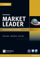 Учебник Market Leader (3rd Edition) Elementary Course Book + DVD-ROM