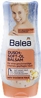 Balea Dusch-Soft-Öl Balsam - Нежный бальзам-масло для тела в душе, 400 мл
