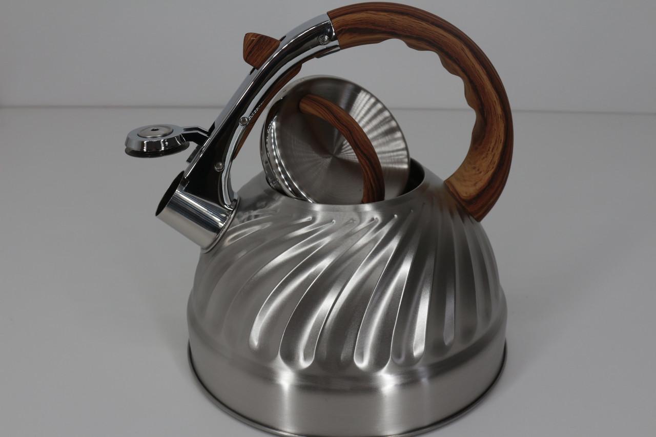 Чайники з нержавеющей стали на газ RB-628