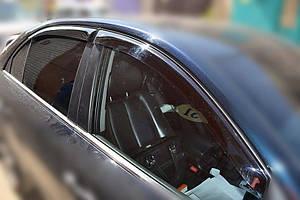 Ветровики Hyundai Sonata NF Sd 2004-2010  дефлекторы окон