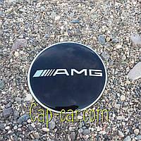 3D наклейка для дисков Mercedes AMG. 65мм ( Мерседес АМГ )
