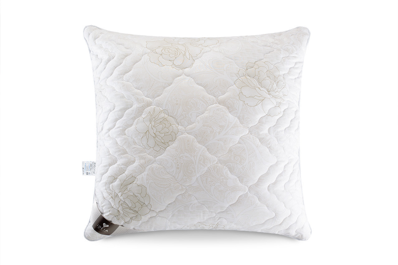 Подушка холлофайбер 70x70 жесткая с внутренней подушкой на молнии Air Dream Classic IDEIA