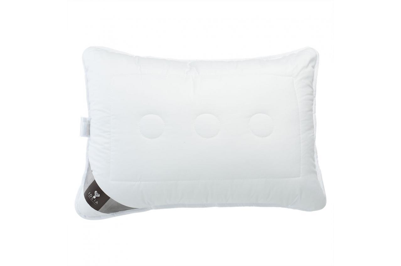 Подушка холлофайбер 50x70 средней жесткости с внутренней подушкой на молнии Air Dream Exclusive IDEIA