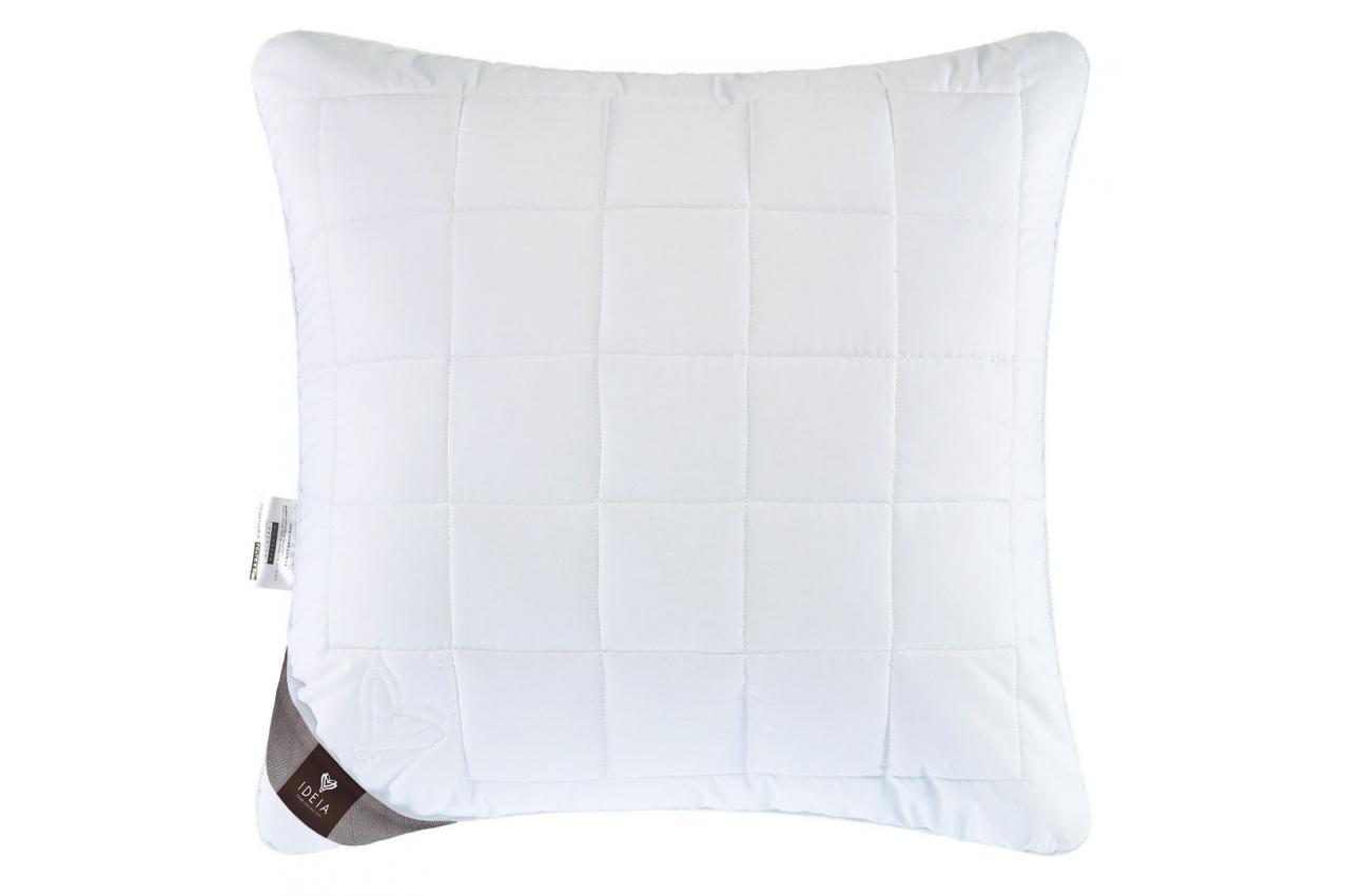 Подушка холлофайбер 70x70 полумягкая с внутренней подушкой на молнии Air Dream Premium IDEIA