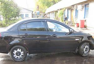 Ветровики Hyundai Verna Sd 2006-2010  дефлекторы окон