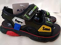 Спортивные босоножки сандалии на мальчика 27,28,30 M.L.V