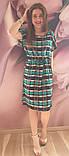 Платье в клетку,штапель, фото 8