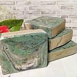 Натуральное мыло ручной работы с Алоэ Вера и соком огурца, фото 3