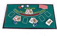 Міні-казино (набір для гри в рулетку та покер) 3 в 1 IG-2055