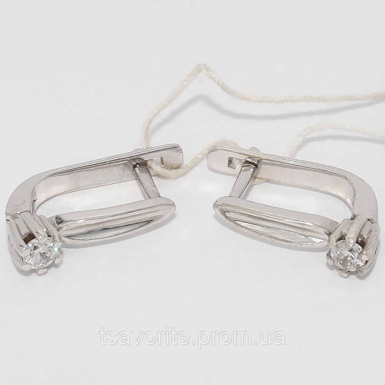 Серебряные серьги 32КН