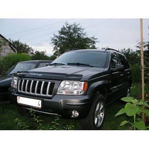 Мухобойка, дефлектор капота Jeep Grand Cherokee (WJ) c 1999-2004 г.в.