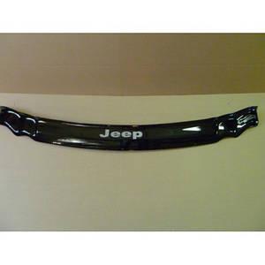Мухобойка, дефлектор капота Jeep Grand Cherokee (WK) с 2005–2010 г.в.