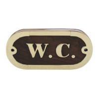 """Табличка """" W.C """""""