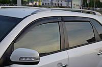 Ветровики Kia Sorento (XM) 2009 - 2014  дефлекторы окон