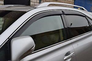 Ветровики Lexus RХ III 2010-2015  дефлекторы окон