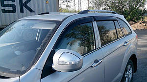 Ветровики Lifan X60 2011-  дефлекторы окон