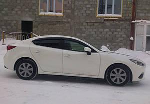Ветровики Mazda 3 III Sd/Hb 2013-2019  дефлекторы окон