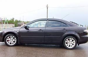 Ветровики Mazda 6 I Hb 5d 2002-2007  дефлекторы окон