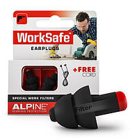 Беруші для роботи в шумі Alpine WorkSafe, фото 1