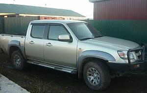 Ветровики Mazda BT-50 2007-  дефлекторы окон