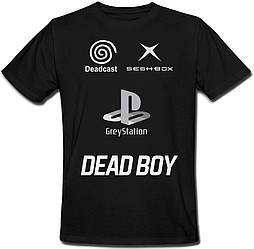 Футболка Bones / Sesh - DEADBOY Greystation Seshbox Deadcast (чорна) XXL