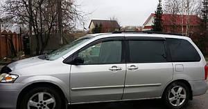 Ветровики Mazda MPV II 1999-2006  дефлекторы окон