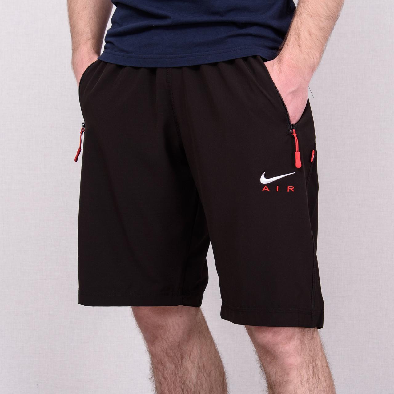 Чоловічі шорти NIKE великого розміру (плащівка), коричневого кольору