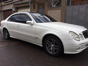 Ветровики Mercedes Benz E-klasse Sd (W211) 2002-2009  дефлекторы окон