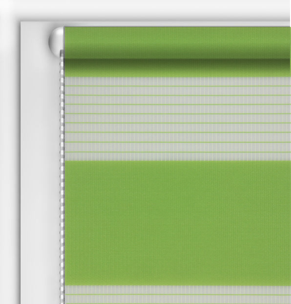 Рулонные шторы День-Ночь DIY Зеленый лайм