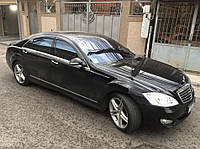 Ветровики Mercedes Benz S-klasse (W221) Long 2005-2013  дефлекторы окон