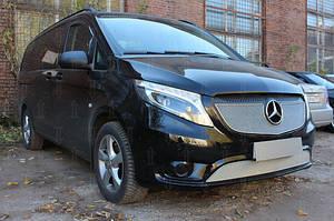 Ветровики Mercedes Benz Vito (W447) 2014- дефлекторы окон