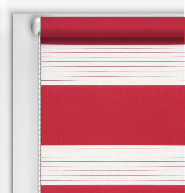 Рулонные шторы День-Ночь DIY Красный