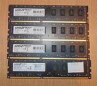32GB Оперативная память DDR3 AMD 1600Mhz PC3-12800 4x8GB