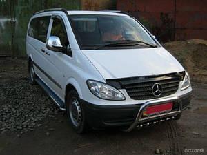 Мухобойка, дефлектор капота Mercedes-Benz Vito (W639) с 2003-2014 г.в.