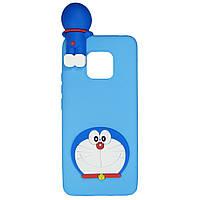 Чехол Cartoon 3D Case для Huawei Mate 20 Pro Кот