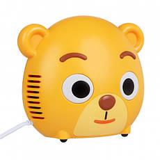Ингалятор компрессорный (небулайзер) Cofoe Мишка KF-WHQ-08, фото 2