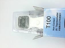 Инфракрасный бесконтактный термометр T100 двухрежимный с измерением температуры тела и поверхностей предметов, фото 2
