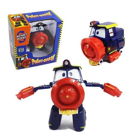 Робот Поезд Robot Trains Виктор (Victor) красно-синий, фото 2