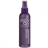 """KEEN KERATIN Спрей для волос """"Кератиновое выпрямление"""" 150 ml"""